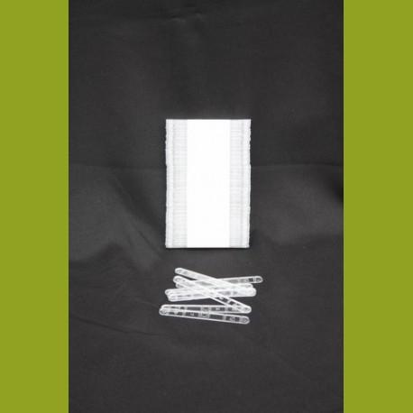 Spatules en plastique 105 mm