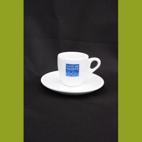 tasse à café traditionnelle porcelaine