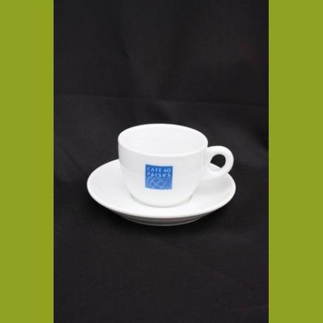 tasse spéciale café au lait porcelaine