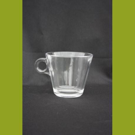 tasse Cappuccino tradition en verre