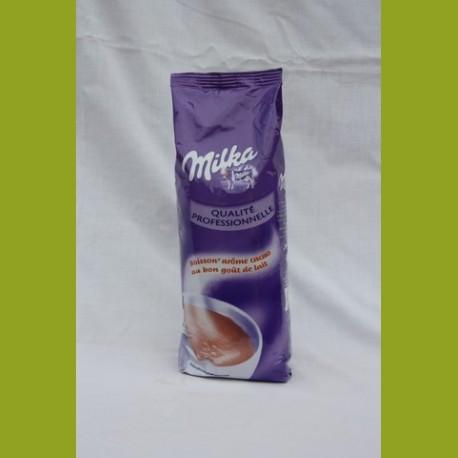 Chocolat en poudre Milka