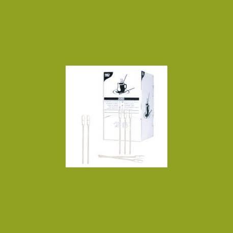 Spatules plastique blanche