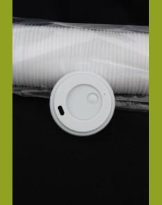 Couvercle gobelet carton 25cl
